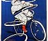 Bibendum Michelin Tire Man Poster by H. W. Roowy 1912_A3